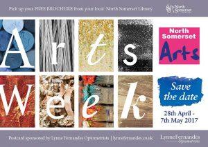 North Somerset Arts Week 2017 brochure cover