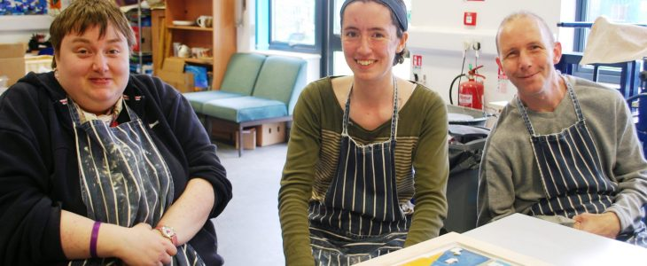 Banwell Pottery's new supported employees