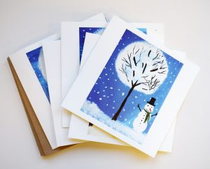 Banwell Pottery Christmas cards 2017